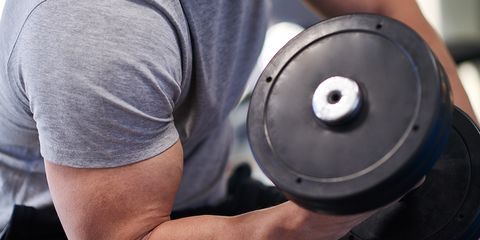 spare tire workout curl