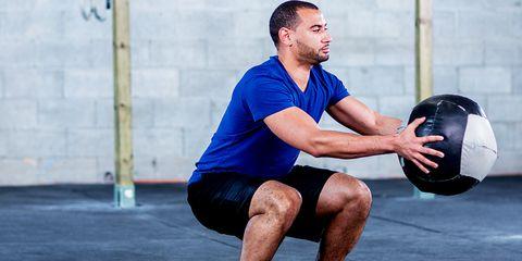 Spare Tire workout squat