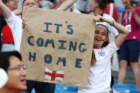 England World Cup 2018 fans
