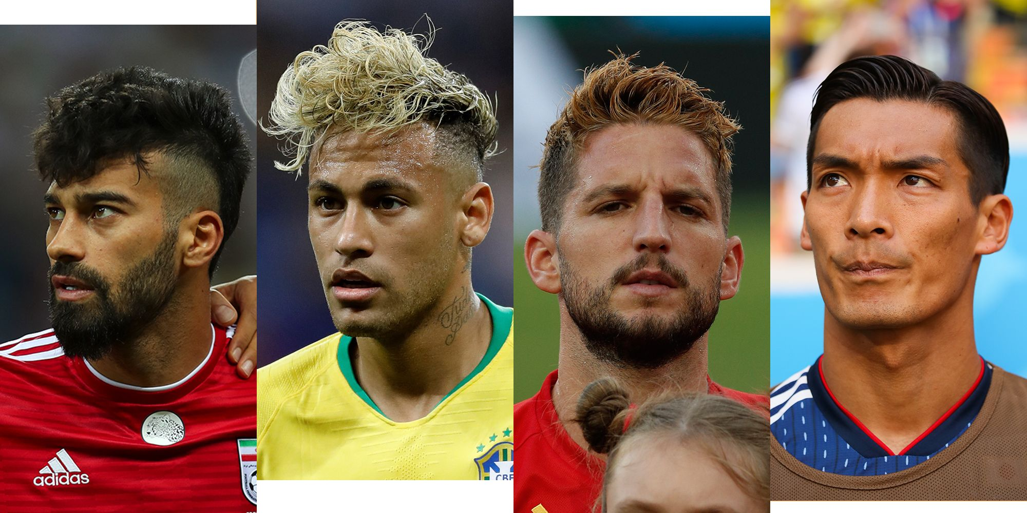 World cup 2018 haircuts