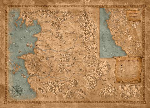 Map, Atlas, World, Beige,