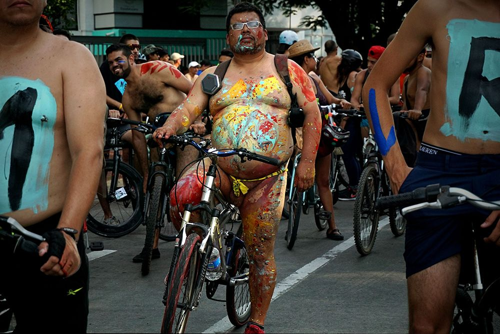 World Naked Bike Ride Mexico