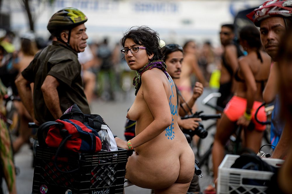 World Naked Bike Ride Caracas