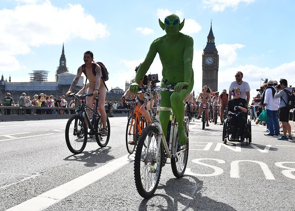 World Naked Bike Ride London