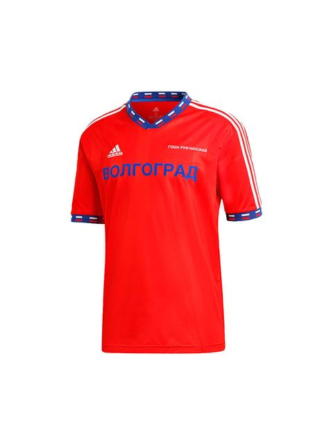 Sportswear, Clothing, Jersey, T-shirt, Red, Sleeve, Sports uniform, Orange, Active shirt, Sports jersey,