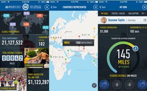 B.A.A. Launches Boston Marathon Mobile App