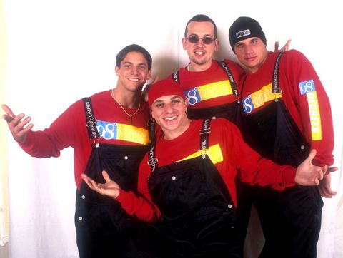 Worst boyband outfits of all time 98 Degrees