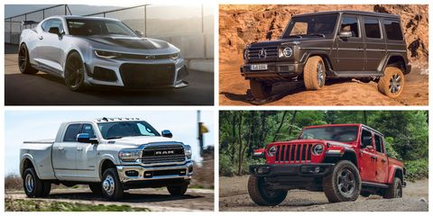 vehicles we've tested with the worst highway fuel economy