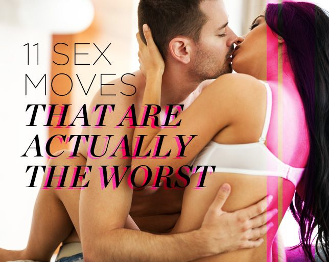 11 Sex Moves That Seem Like a Better Idea Than They Actually Are