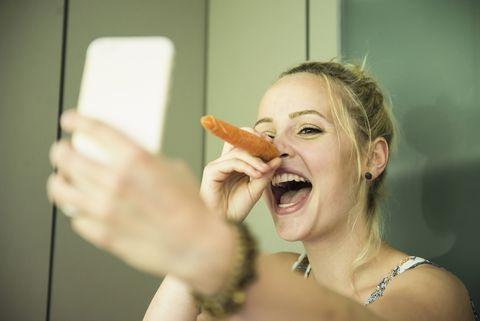 Waarom een wortel de perfecte snack is