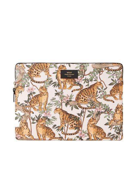 wouf laptophoes jungle 15 inch bijenkorf