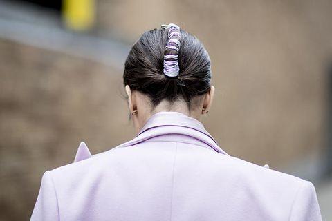 Hair, Hairstyle, Chignon, Hair accessory, Headgear, Bun, Street fashion, Headpiece, Temple, Photography,