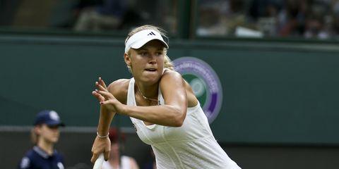 Pro tennis player Caroline Wozniacki