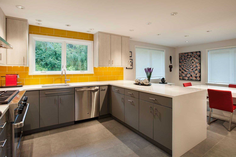 Yellow Kitchens