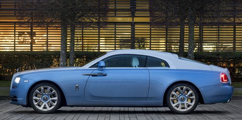 The Wraith Car >> Rolls Royce Falcon Wraith Captivates With Detailed Embroidery