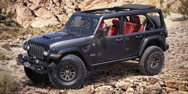 jeep's wrangler rubicon srt 392 concept