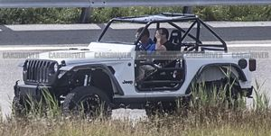 Wrangler Prototype Caught Testing