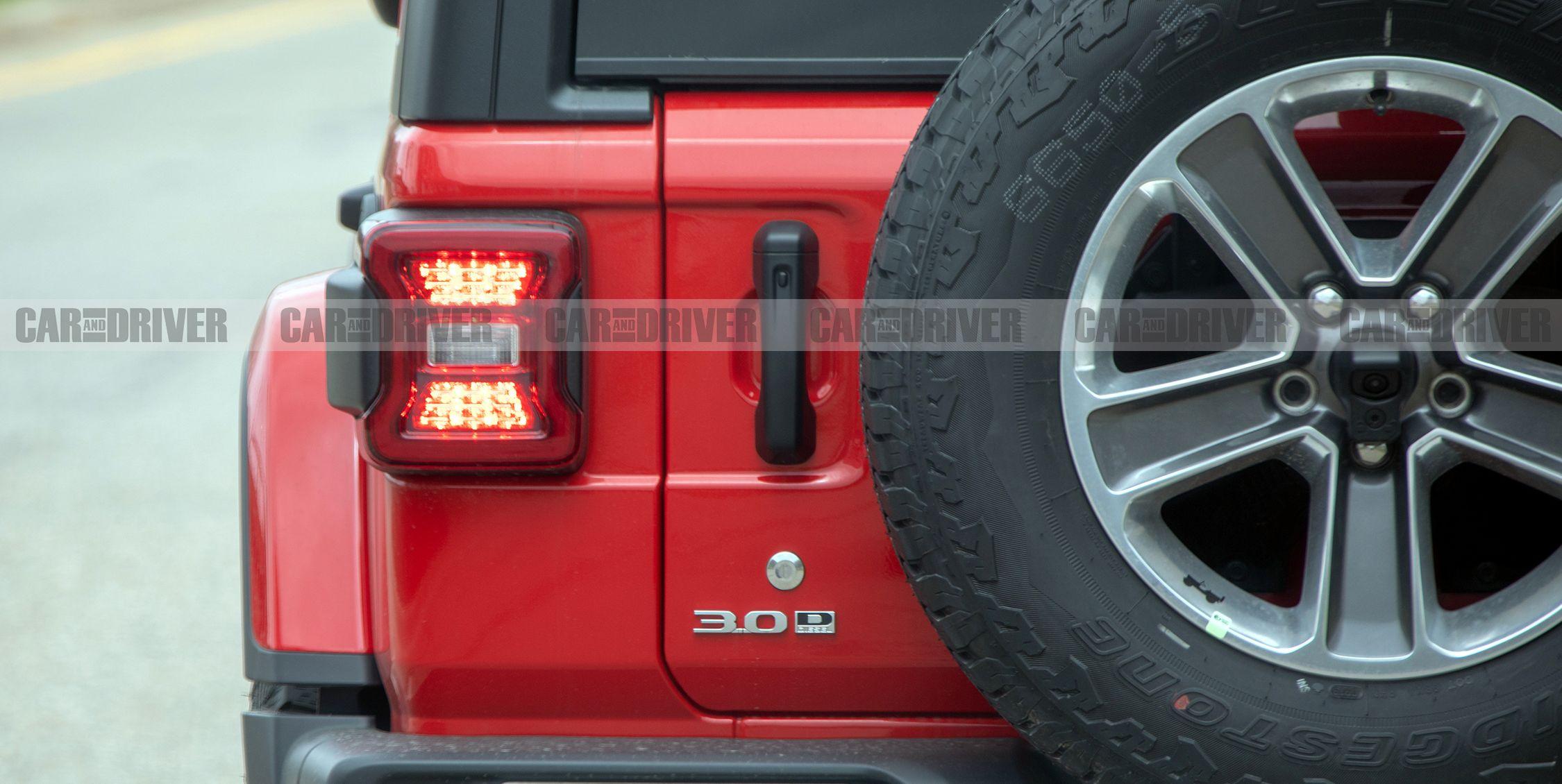 Diesel-Powered Jeep Wrangler Spied Wearing Distinct Badge