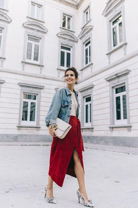 9553fc468d Ésta es la falda que más te favorece según tu cuerpo