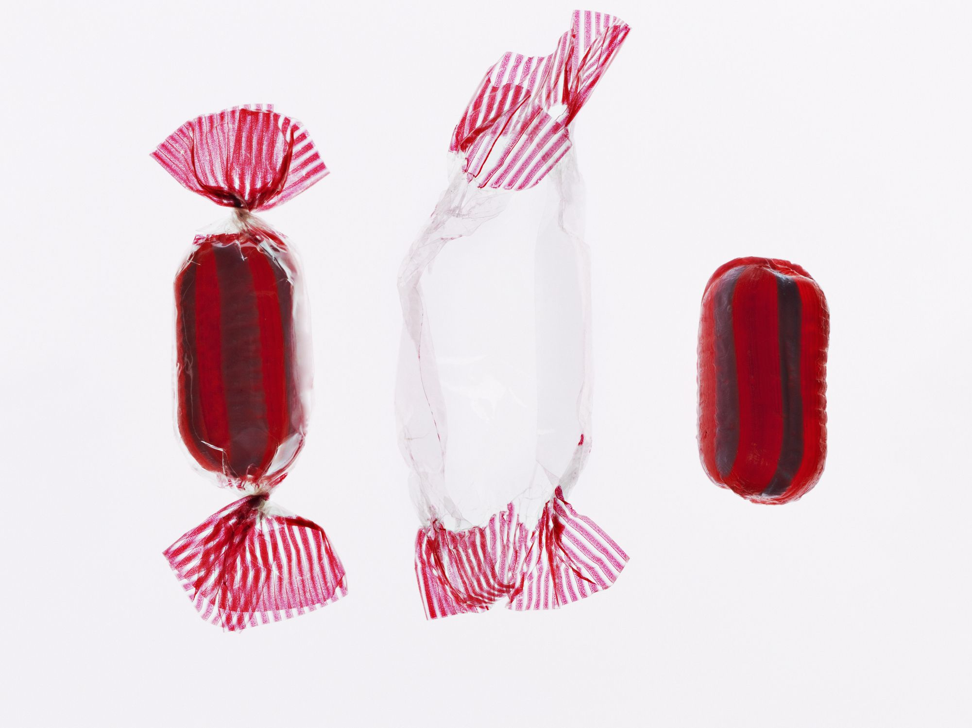 Wrapped and unwrapped hard candy