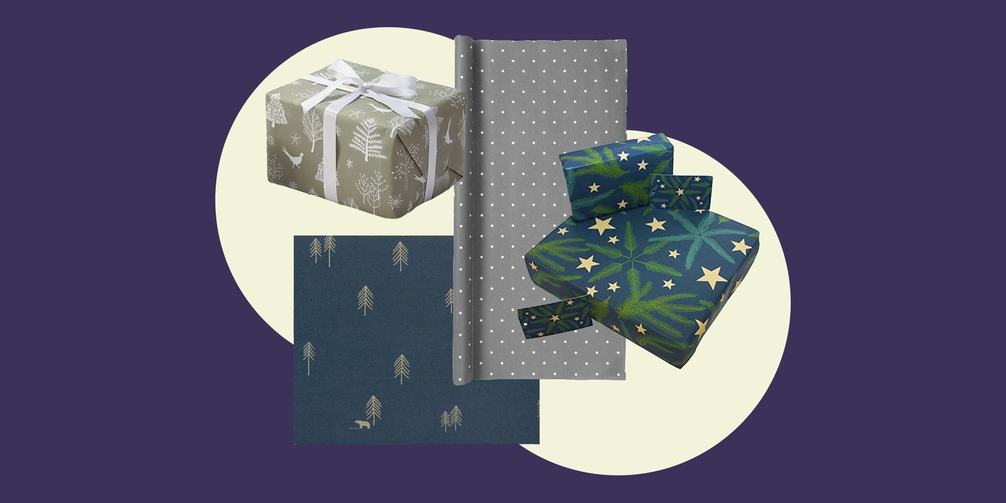 The best recyclable wrapping paper for Christmas gifts