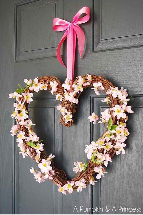 Heart Grapevine Wreath