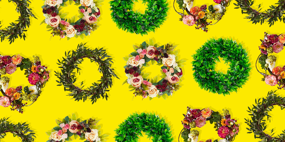 30 of the Prettiest Fall Wreaths for Your Front Door