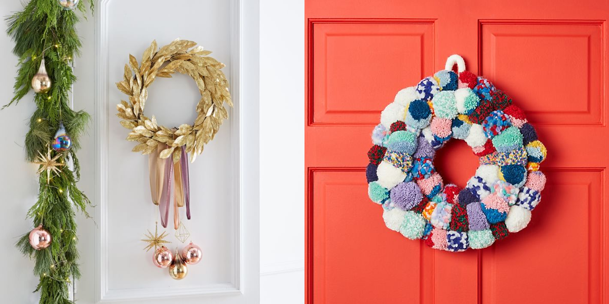 45 Christmas Wreaths You'll Actually Want to Deck The Halls With