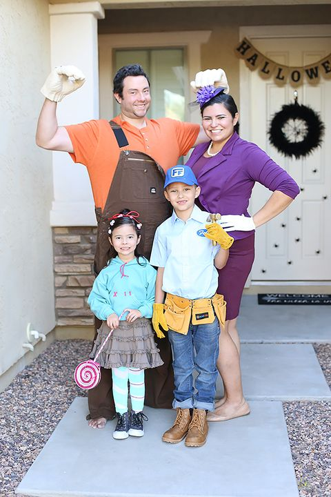 wreck it ralph characters family halloween costumes