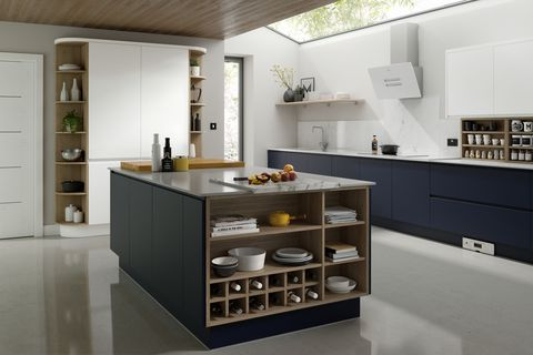 Handleless Kitchen, Wren Kitchens