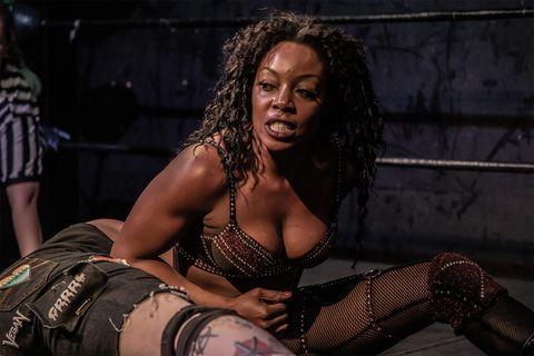 Wrestle Queendom II, feminist punk-rock wrestling