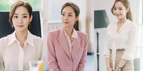韓劇《金秘書為何那樣》朴敏英 穿搭造型