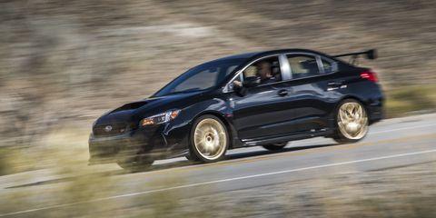 Sti Type Ra >> Subaru Wrx Sti Type Ra First Drive