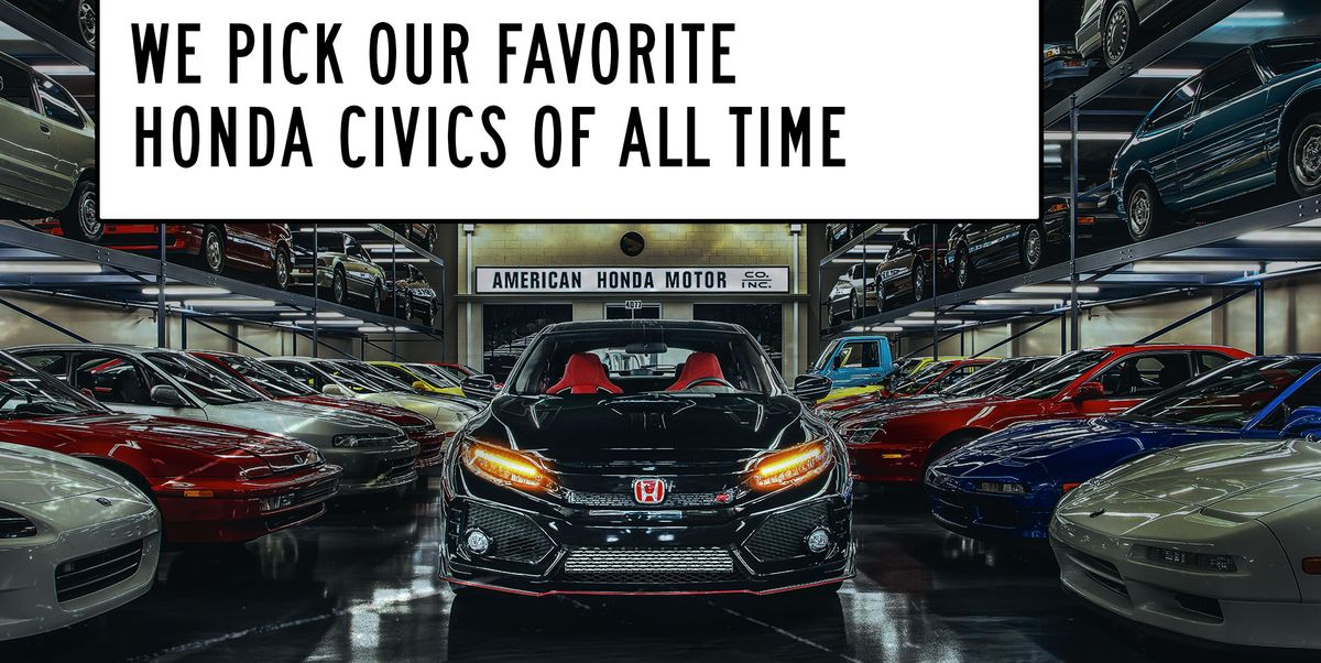 The Best Honda Civic of All Time: Window Shop with Car and Driver
