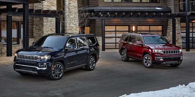 2022 jeep grand wagoneer and wagoneer