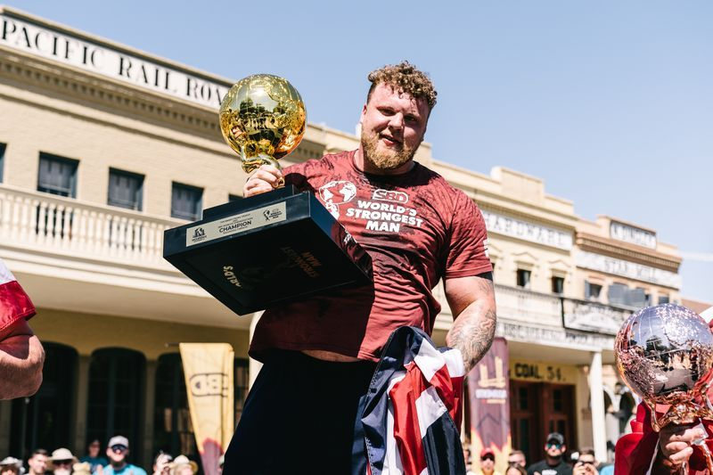 Tom Stoltman Wins the 2021 World's Strongest Man Competition