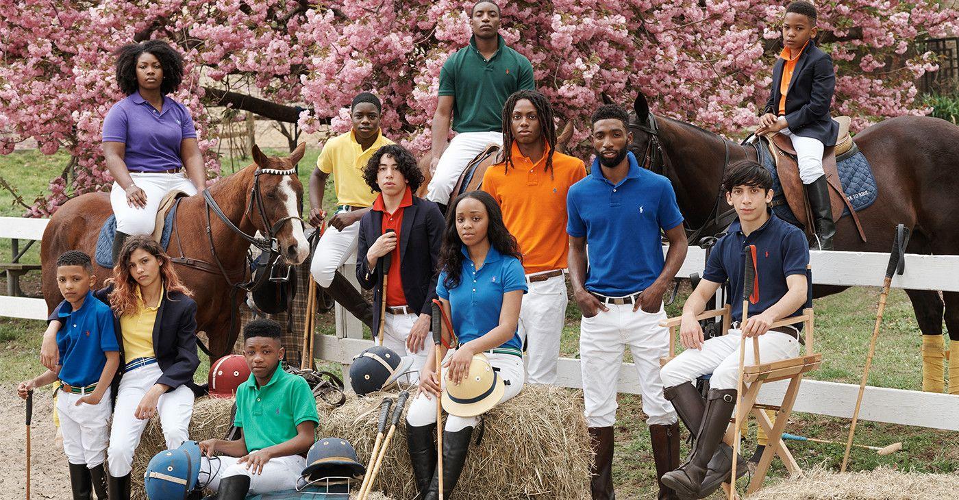 Polo Campaign Lauren's Latest Black Ralph Celebrates Equestrians ZPTkiwOXul