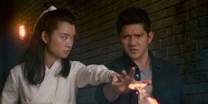 Wu Assassins - Ying Ying (Celia Au) and Kai Jin (Iko Uwais)