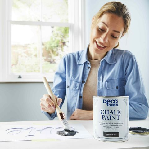 aldi's new £499 chalk paint means you can now upcycle furniture for less