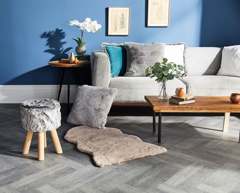 aldi winter home collection faux fur stool rugs and bedding