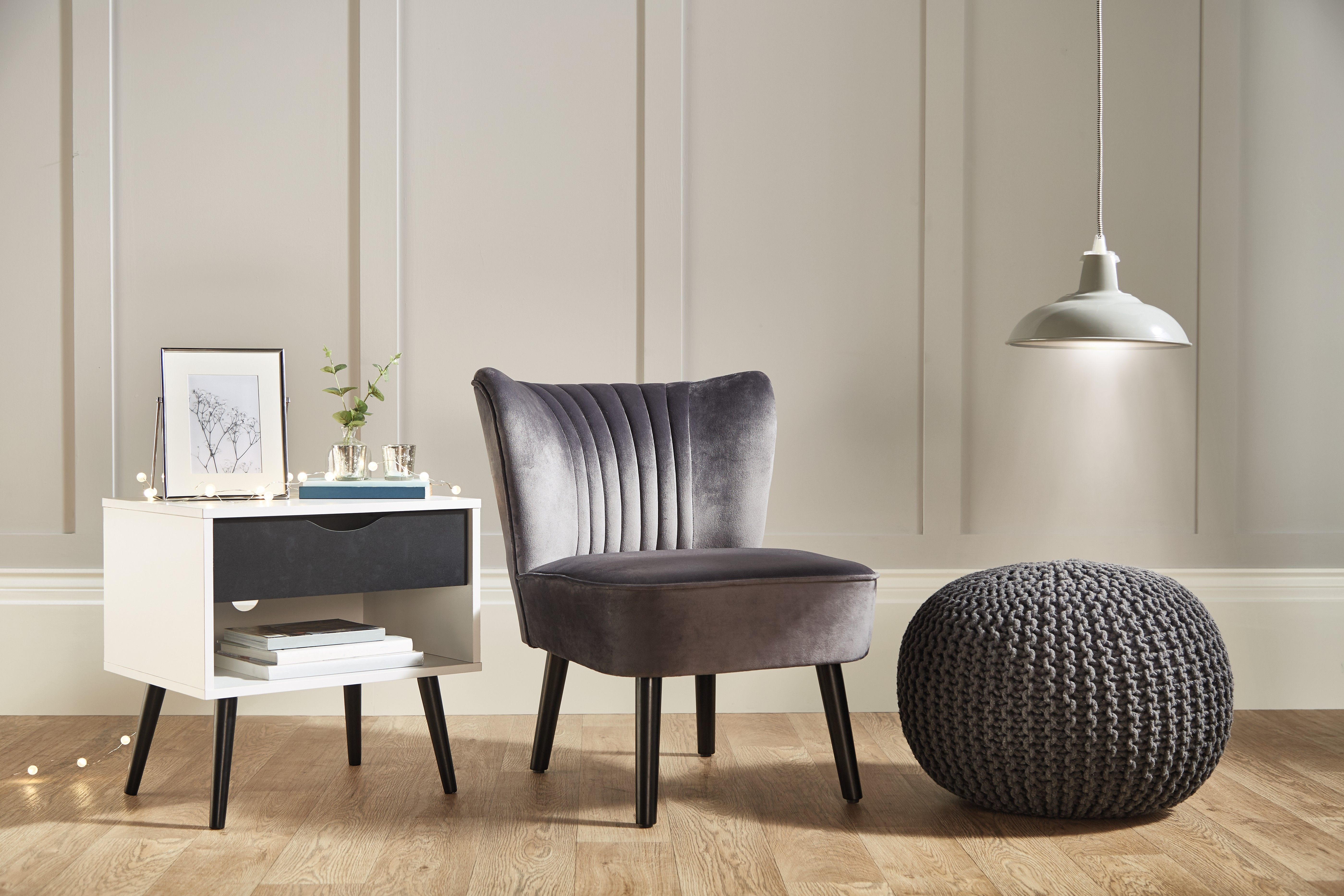 Aldi is selling a stunning statement velvet chair – and we're in love