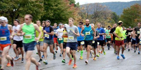 Start of 2014 Freedom's Run Marathon