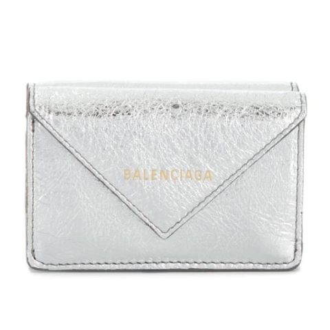 Wallet, Fashion accessory, Coin purse, Leather, Rectangle, Beige, Bag,