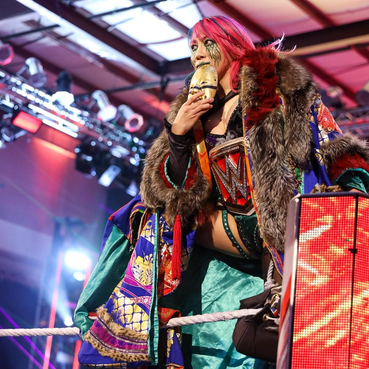 WWE Legend Batista Reacted To Asuka Photo-shopping Her Face On Twitter 39