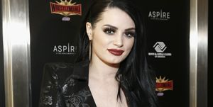 WWE Paige Superstars For Hope Reception 2019