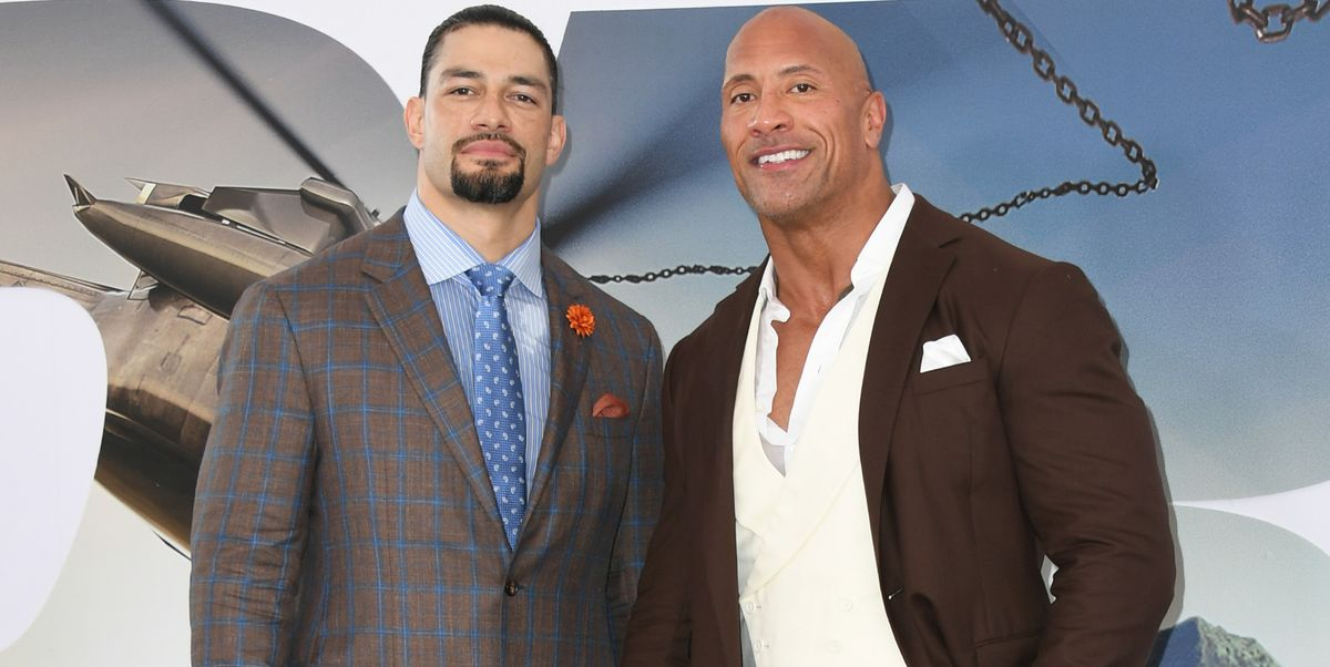 WWE's Roman Reigns wants match with Dwayne Johnson at Hollywood Wrestlemania