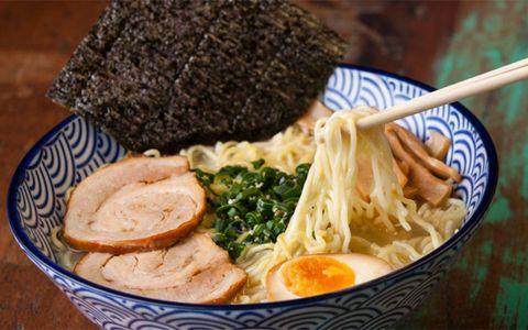 Dish, Food, Cuisine, Ramen, Ingredient, Noodle, Comfort food, Lamian, Produce, Instant noodles,