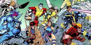 X-Men Comic años 80