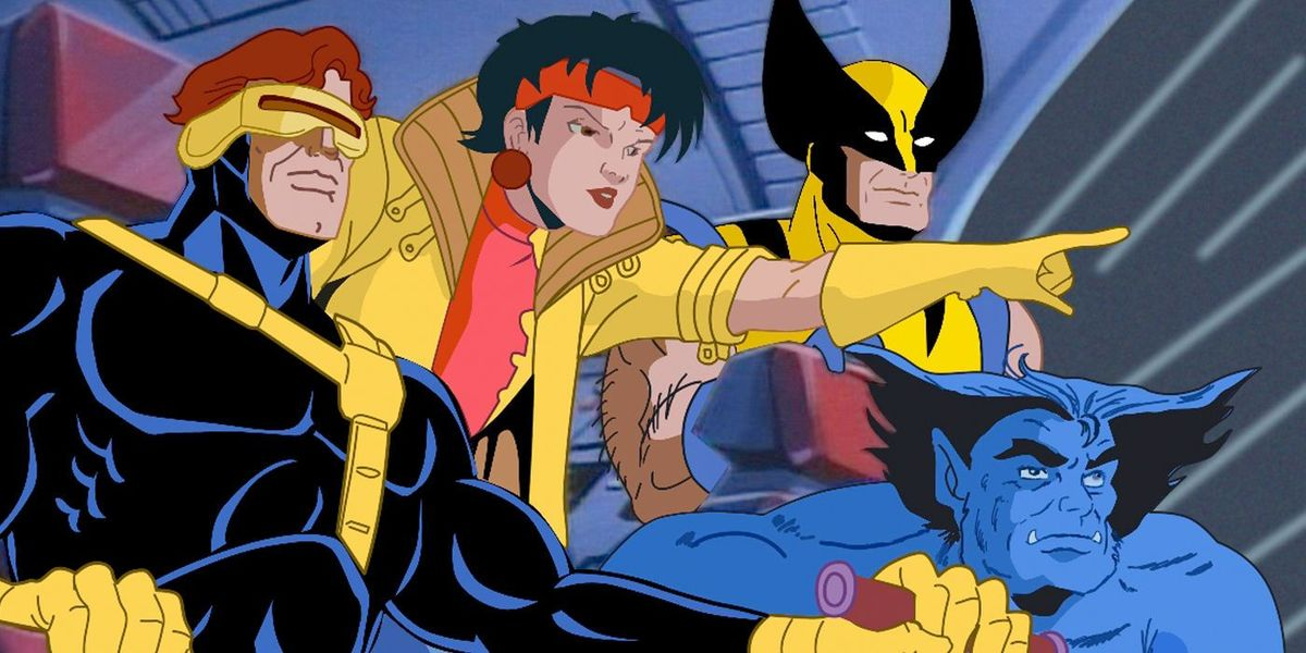X-Men The Animated Series almost looked *very* different