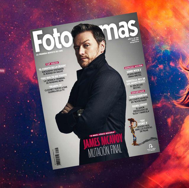 James McAvoy en la portada de junio de Fotogramas